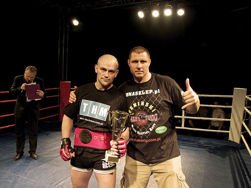Paweł Zalewski zdobył Pas Mistrza Unii Sportów Walki-M 12.06.2010