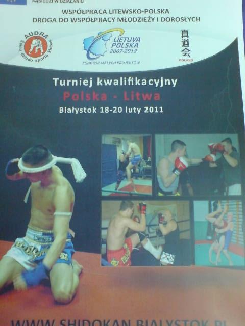 Seminarium MMA i Muay Thai Polska-Litwa, Turniej kwalifikacyjny Polska – Litwa
