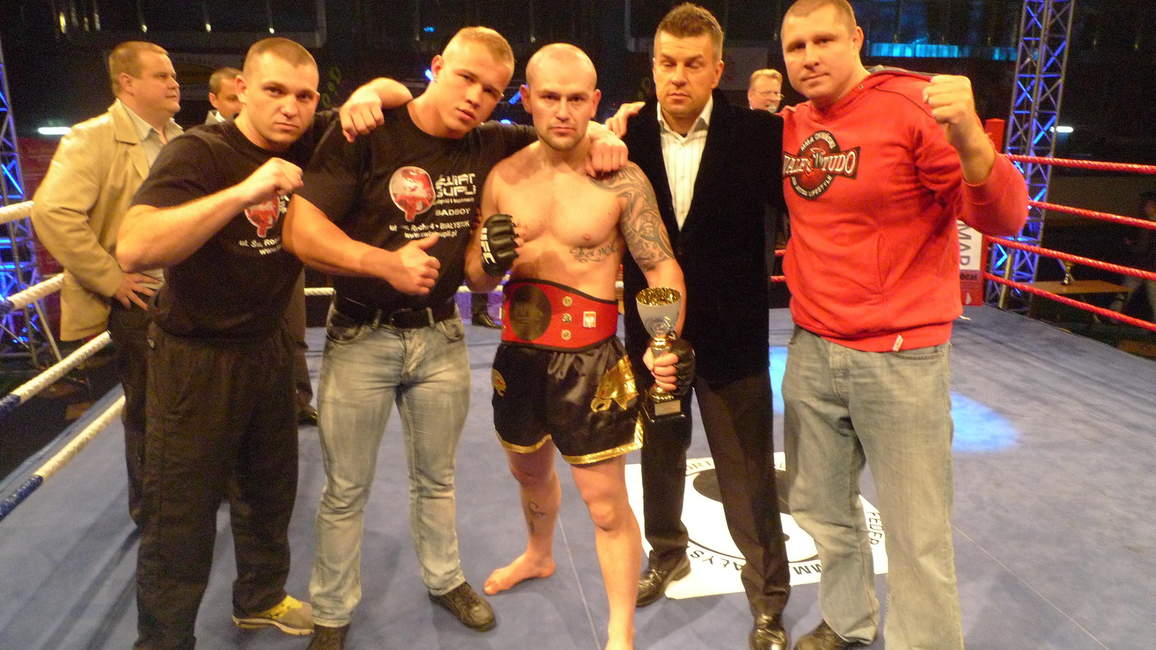 II międzynarodowa gala sportów walki MMA Cup Białystok 2011