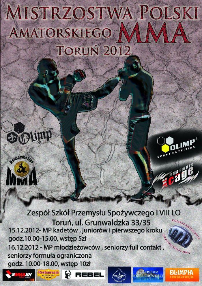 Mistrzostwa Polski w MMA – Toruń 2012