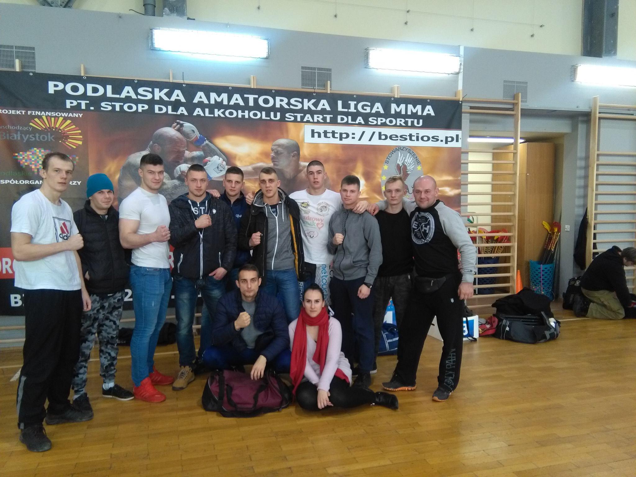 ALMMA 124 Białystok, Mistrzostwa Podlasia w MMA