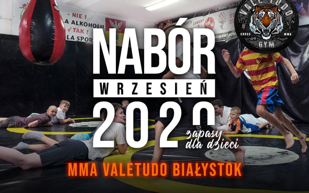 Nabór na zapasy dla dzieci w MMA VALE TUDO BIAŁYSTOK